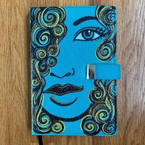 Hand Painted Refillable Journal